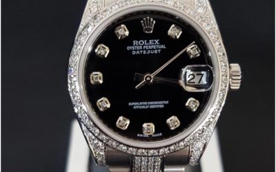 Rolex Datejust with diamond set