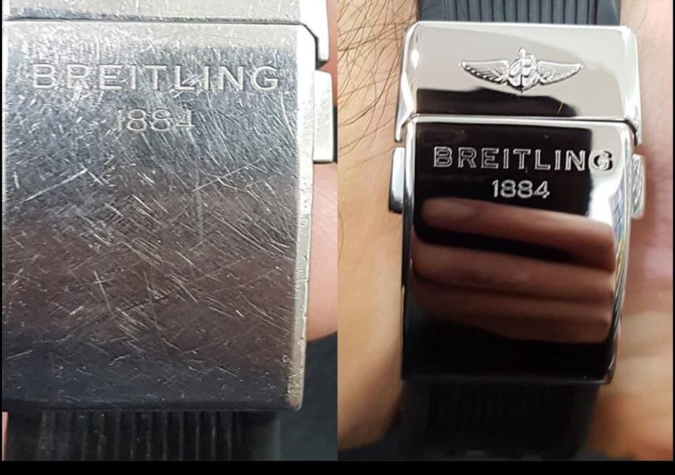 Breitling Clasp Before and After